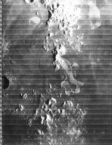 Could this image be of alien buildings and structures on the Lunar surface?