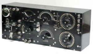 A WWI Submarine Radio Receiver