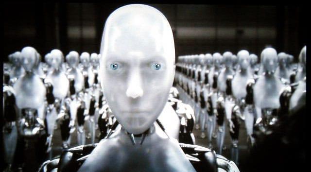 Scene from I, Robot