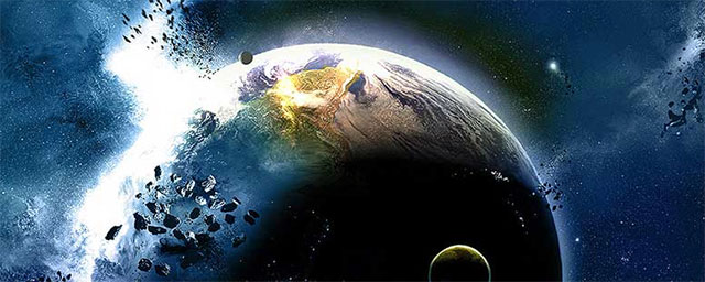 Nibiru, Planet X colliding with Earth.