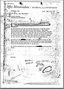 The 1950 FBI document (Guy Hottel)