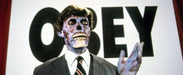 "Creature from, ""They Live"""