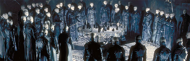 "Aliens from the 1998 film, ""Dark City""."