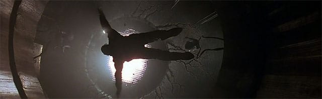"Shot from the 1993 film, ""Fire in the Sky""."