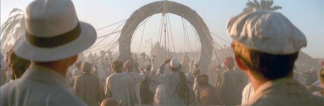 Erecting the Stargate