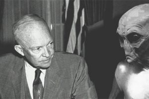 Eisenhower with an Alien