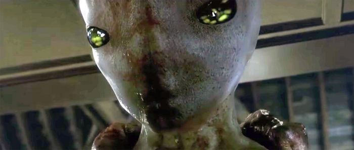 A picture of an alien