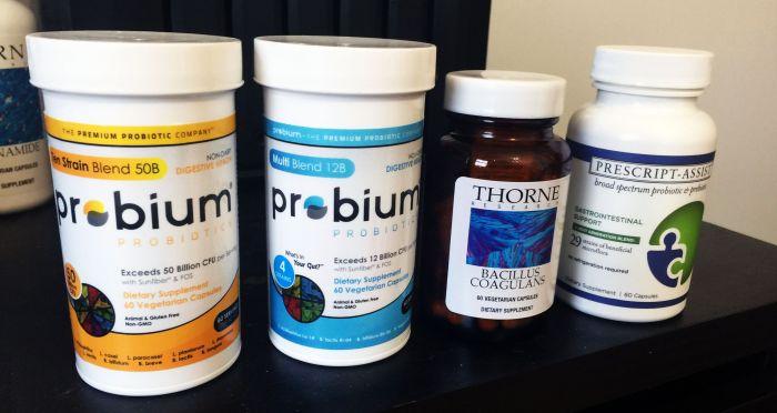 Selection of prescription strength probiotics
