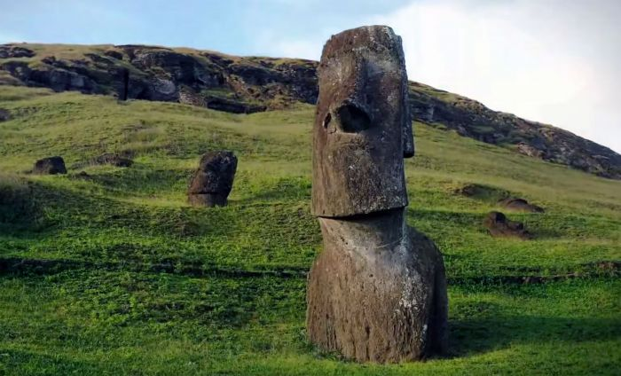 Easter Island Heads Moved