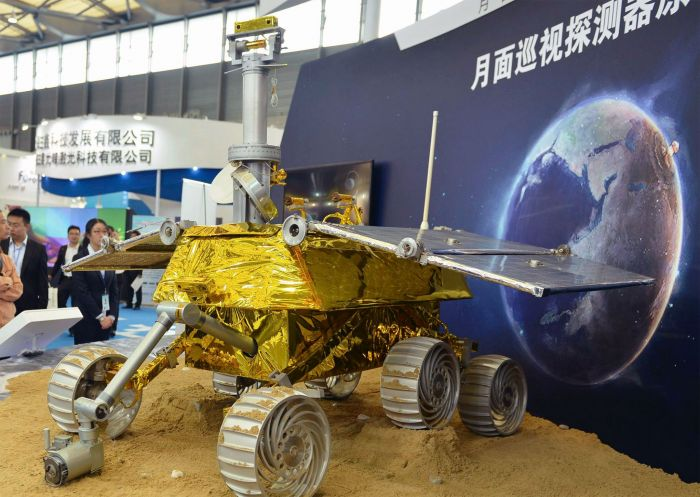 Chinese space rover