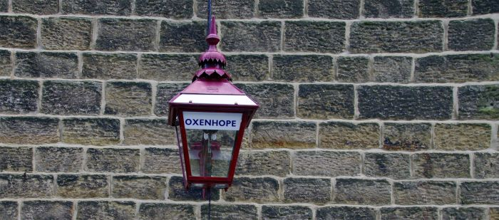 Working gas lamp