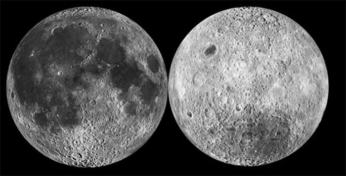 Both sides of the Moon
