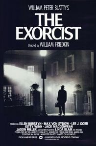 Movie artwork poster for The Exorcist