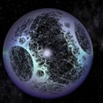 Artist's impression of an alien build Dyson Sphere.