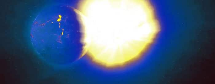 Planet near Sun