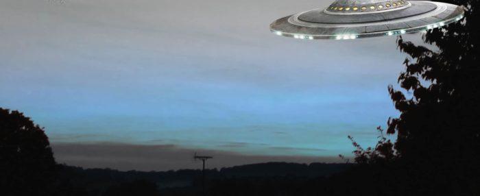 Maury Island with UFO