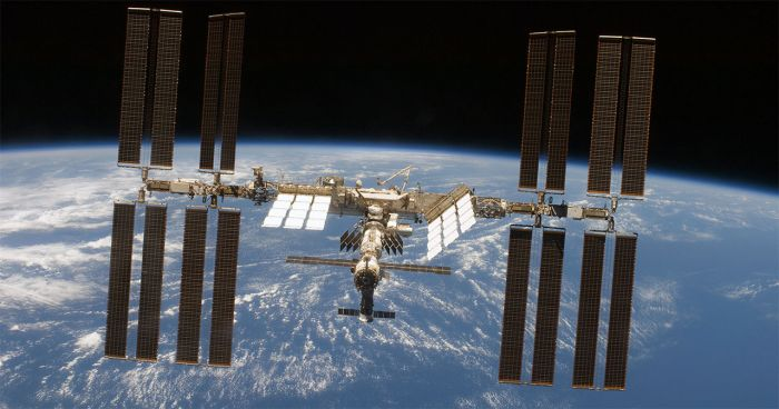 The International Space Station. Credit: NASA.