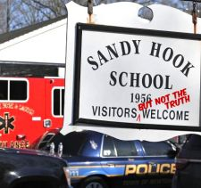 Sandy Hook School Sign.