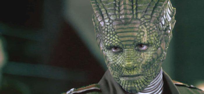 A depiction of a reptilian