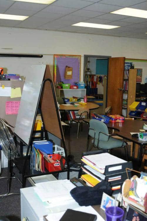 Sandy Hook classroom