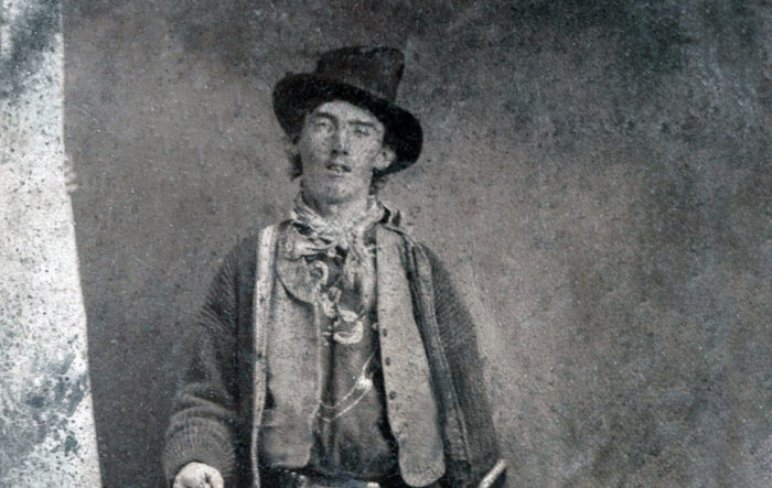 Picture of the alleged Billy the Kid.