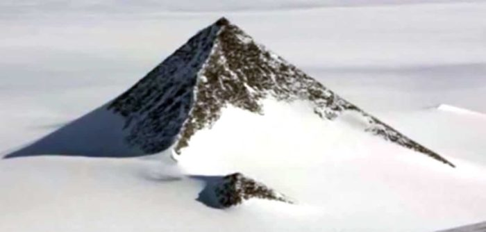 A Pyramid in Antarctica?