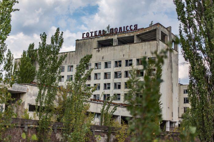 The ruins of Pripyat