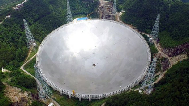 China's space telescope.