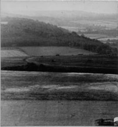 First photo: 1932, Bow Hill. Circle just visible in foreground.