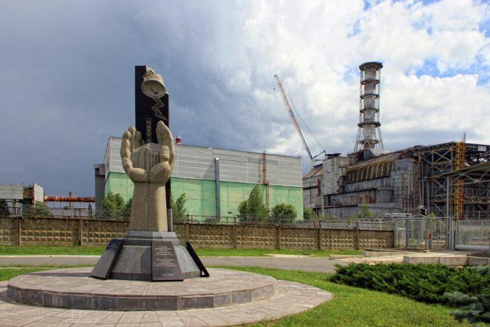 Monument at Chernobyl