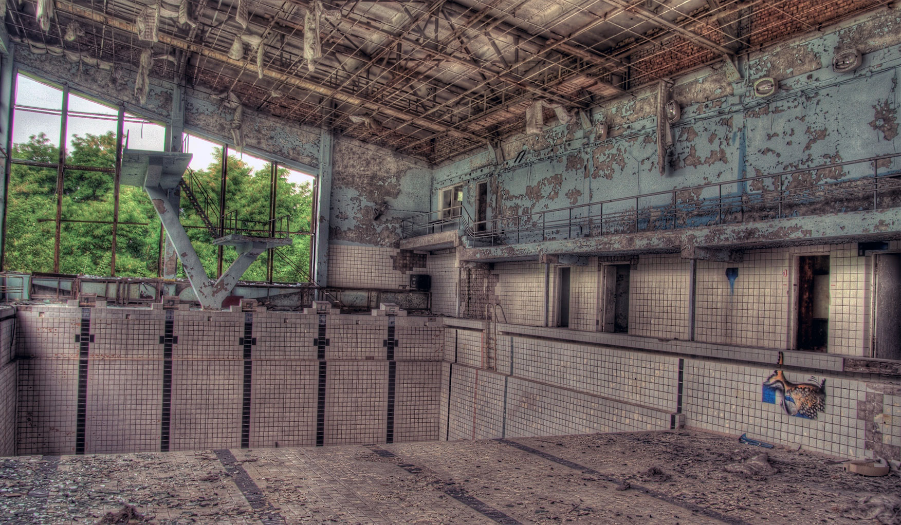 The ghosts of pripyat more than just horrific memories of for Swimming pool photos