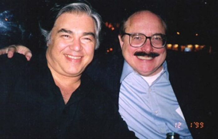 Aaron Russo (left) and Nick Rockefeller (right)