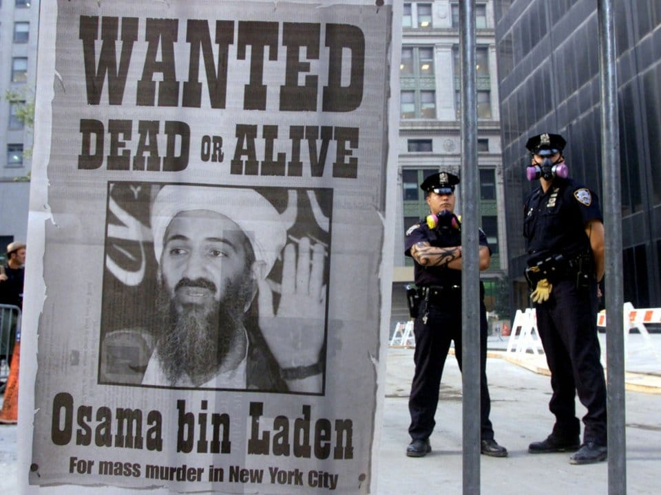 The alleged mastermind of the 9/11 gets the 'wild west' treatment.