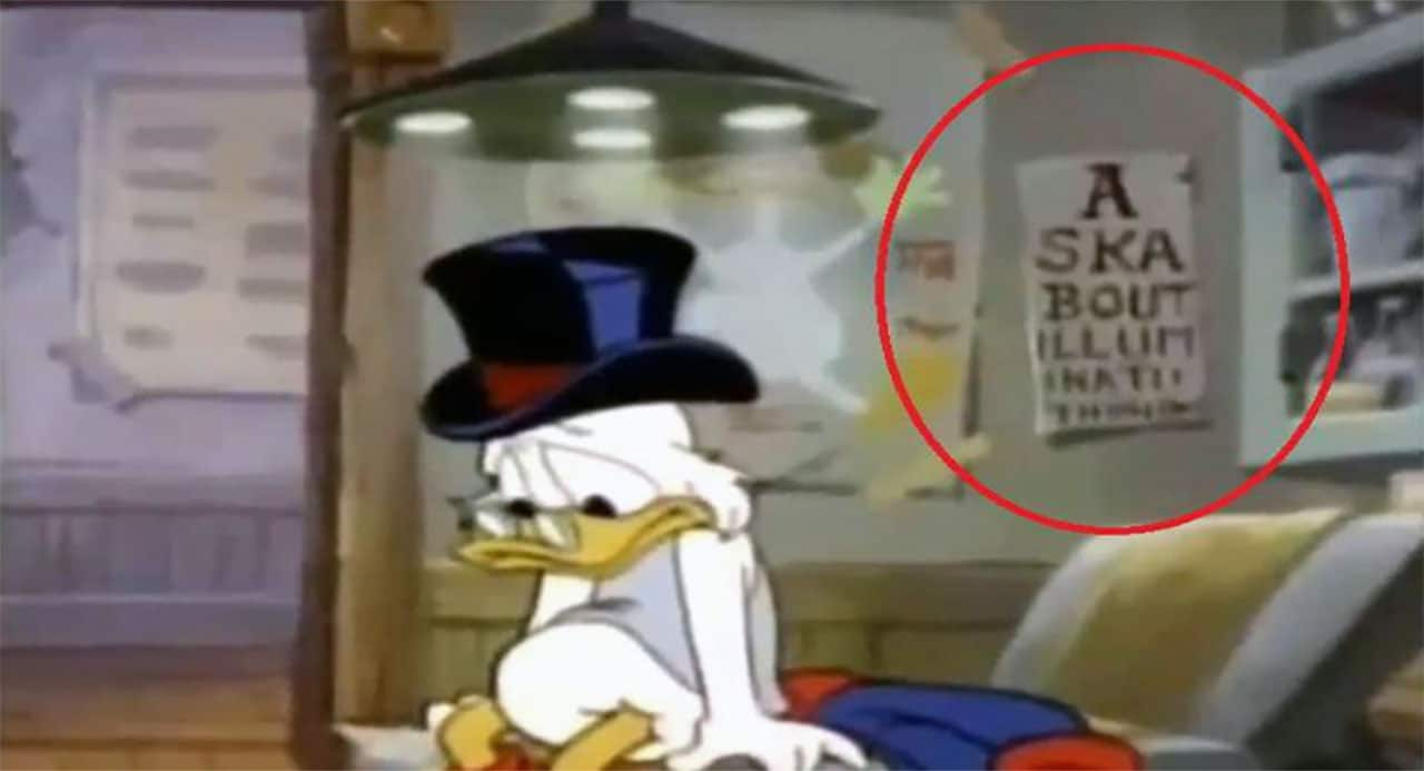 Donald Duck Illuminati.