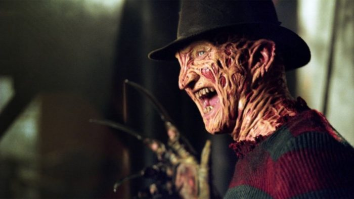 Freddy Kruger from A Nightmare In Elm Street