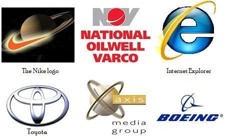 Symbols of Saturn.