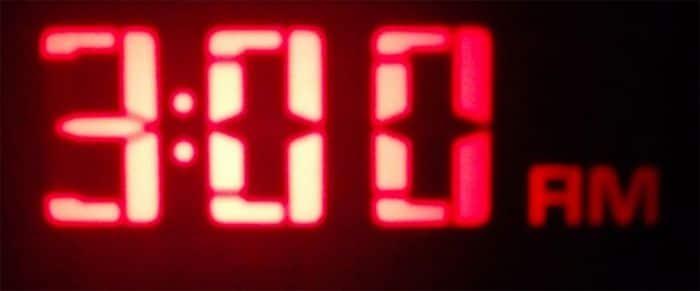 3am clock.