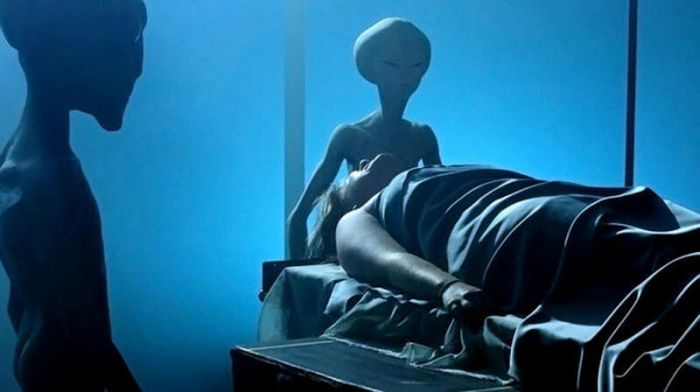 Typical 'operating table' abductee experience.