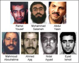 The 'gang of seven' WTC '93 bombing suspects.