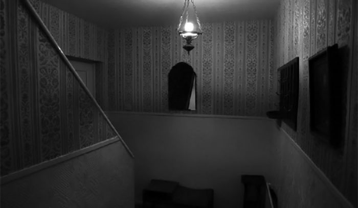 The Stairway at 30 East Drive.
