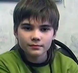 The young boy Boriska.