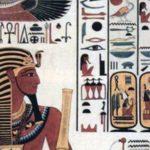 Seti I and hyroglifics.