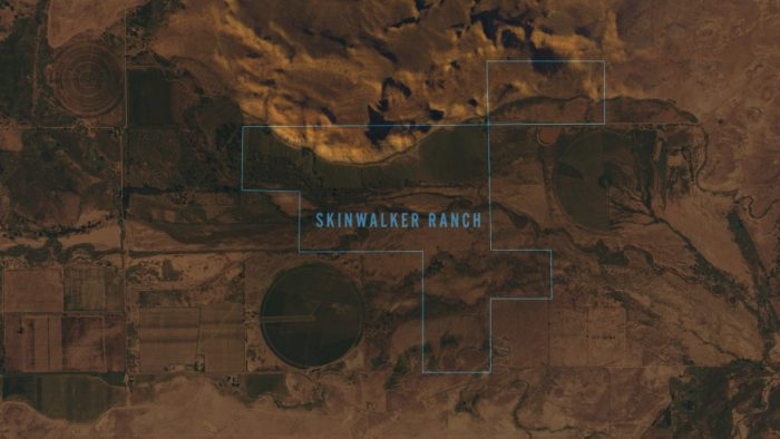 Map of Skinwalker Ranch
