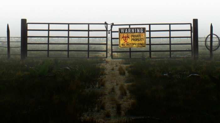 Gate at Skinwalker Ranch
