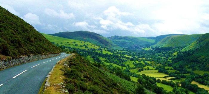 Berwyn mountains.