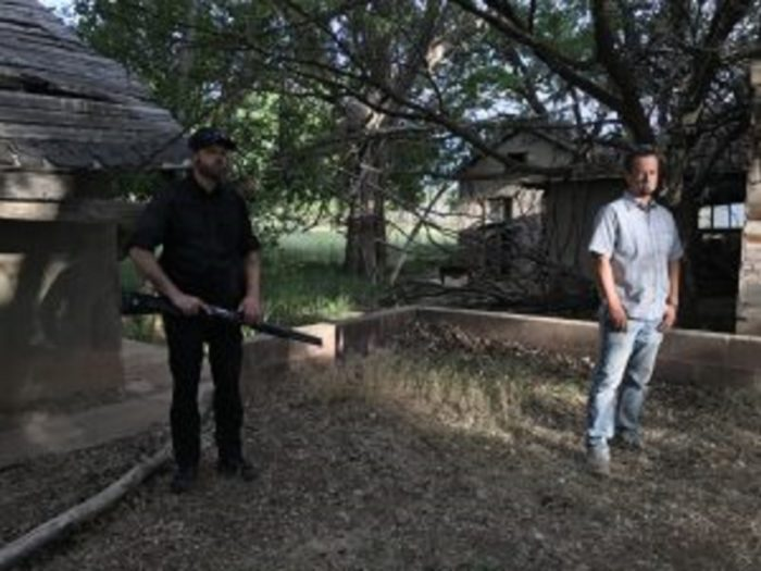 Investigators on Skinwalker Ranch