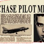 UFO Chase pilot missing headline.