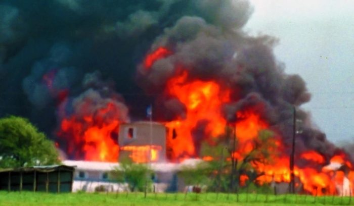 Fire at the Waco siege