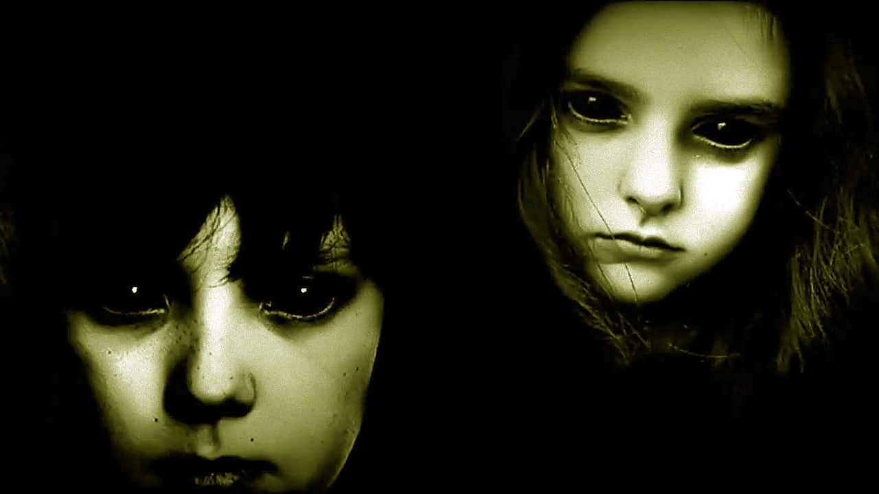 Black eyed children.
