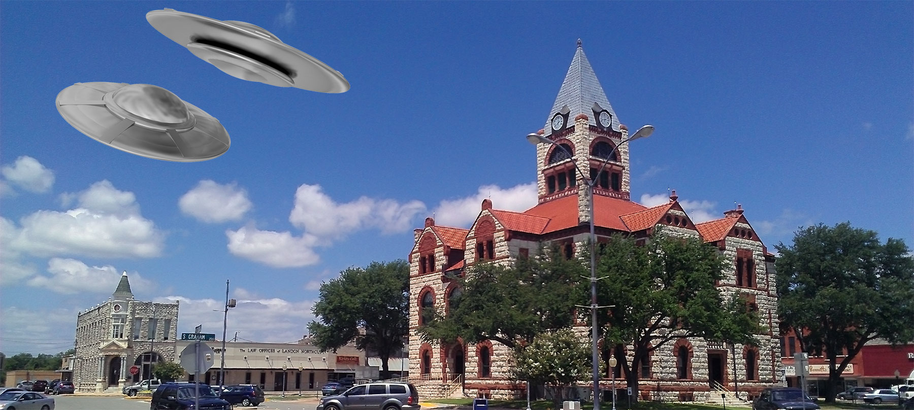 Stephenville UFO (drawing).